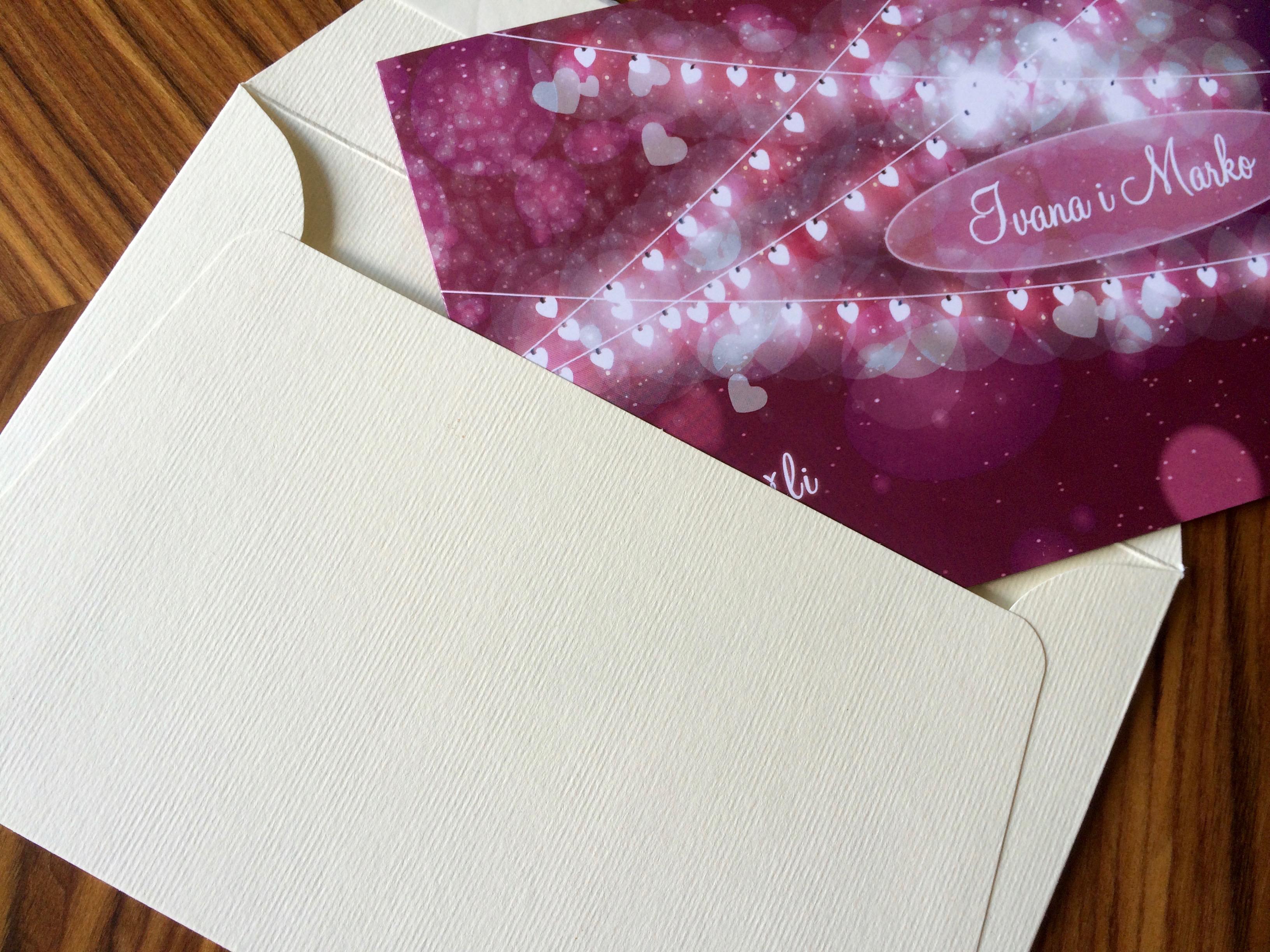 Pozivnice za venčanja - Beoprint štamparija