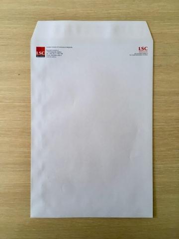 A4 koverta sa štampom u dve boje - Beoprint štamparija Beograd