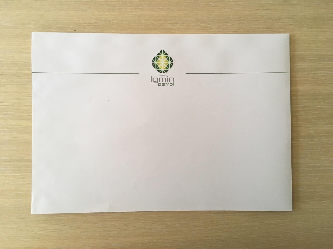 A4 koverta sa štampom - Beoprint štamparija Beograd