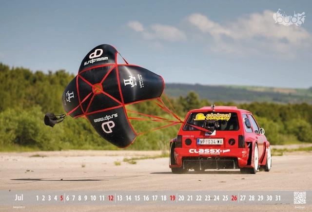 kalendar opel corsa drag, digitalna štampa - Beoprint štamparija Beograd