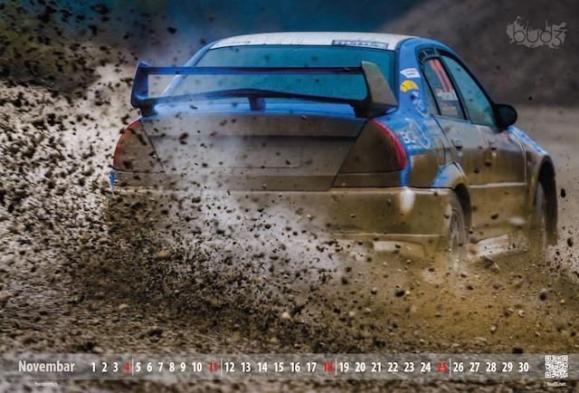 kalendar rally santa domenica, digitalna štampa - Beoprint štamparija Beograd