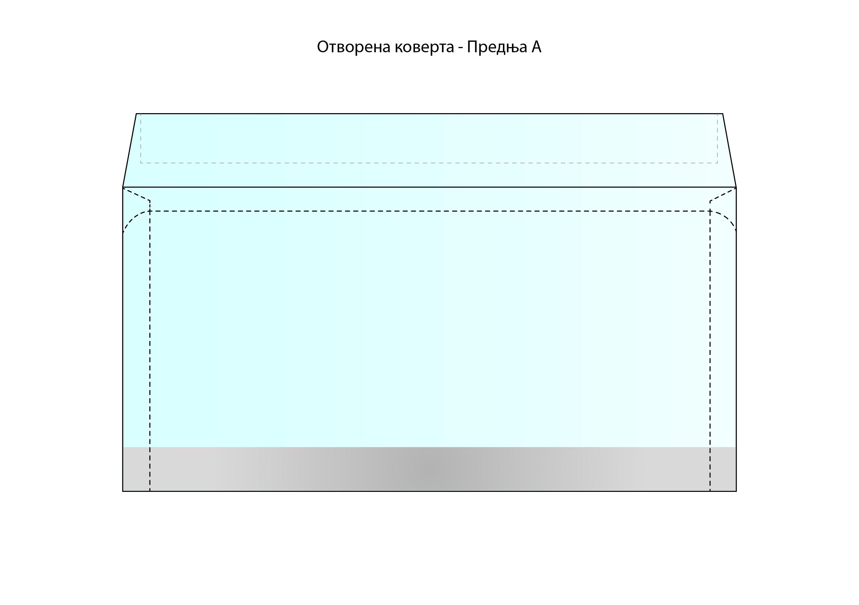 Šema za štampu na kovertama - Beoprint štamparija Beograd