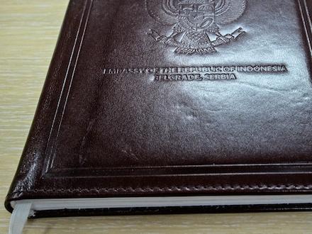 Luksuzni rokovnik u koži - Beoprint štamparija Beograd